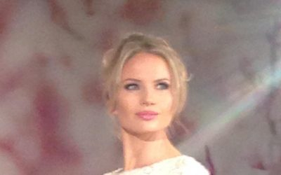 The Makeup For  Wedding Dress Designer Suzanne Neville's  New Songbird  Collection